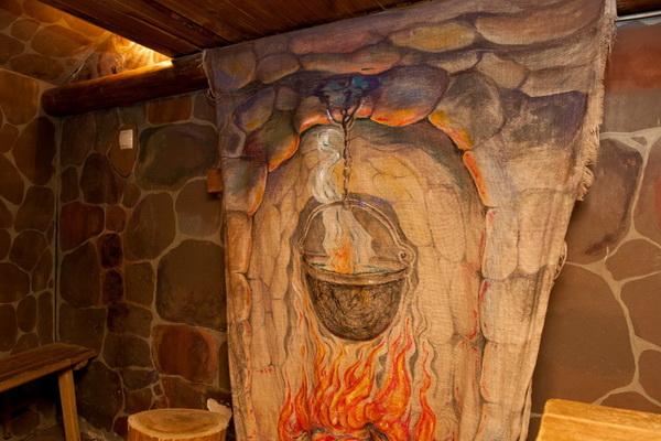 Картинка очага в каморке папы карло