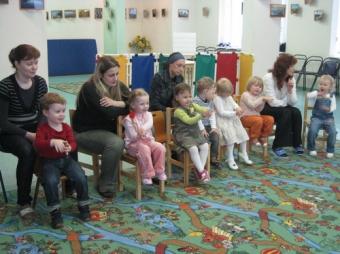1 сентября 2008 г. - Занятия у малышей