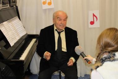 24 ноября 2011 г. - Творческий вечер с В. Я. Шаинским