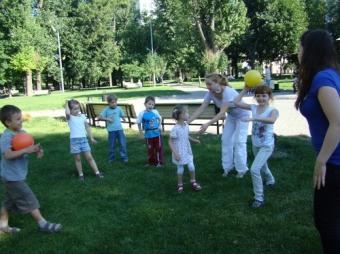 Лето  2010 г. - Летний городской лагерь